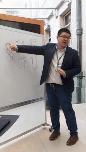 Shan Siping discusses Manchu, an endangered Tungusic language
