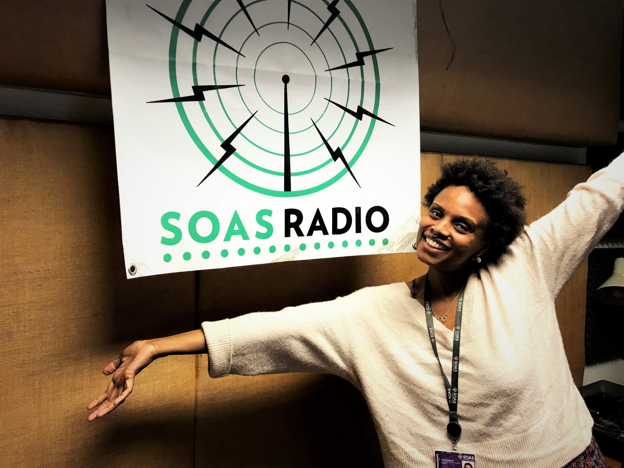 Adékúnmi Ọlátúnjí at SOAS radio