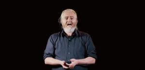 Joe Duggan performing his poem Irish for Beginners