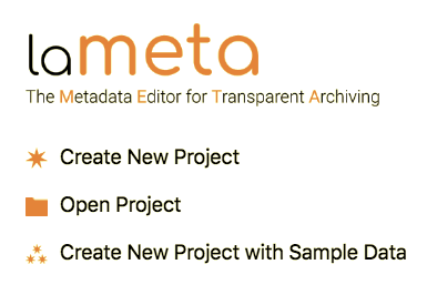 lameta - the metadata editor for transparent archiving
