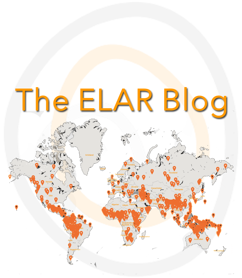 The ELAR Blog contains interviews with speakers and depositors, collection highlights, and descriptions of what a day in the field of our depositors looks like. You can also find recaps of past events and information on projects we collaborated with.