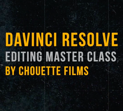 Editing Masterclass by Chouette Films