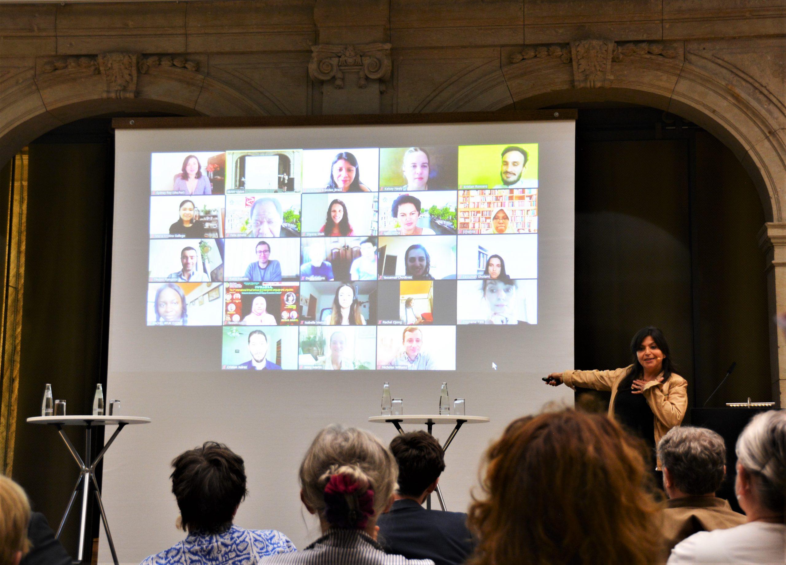 Opening Ceremony at BBAW – Festveranstaltung zur Eröffnung des Zentrums für die Dokumentation bedrohter Sprachen