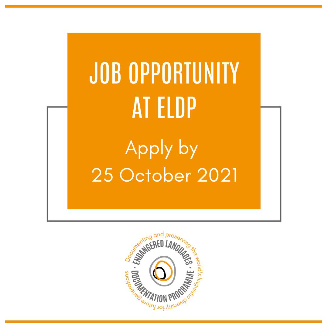 ELDP Job Opportunity